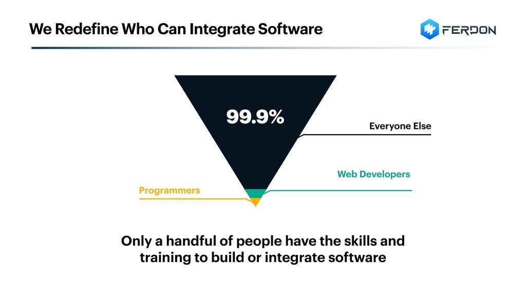 Web Developers Everyone Else 99.9% Programmers ...