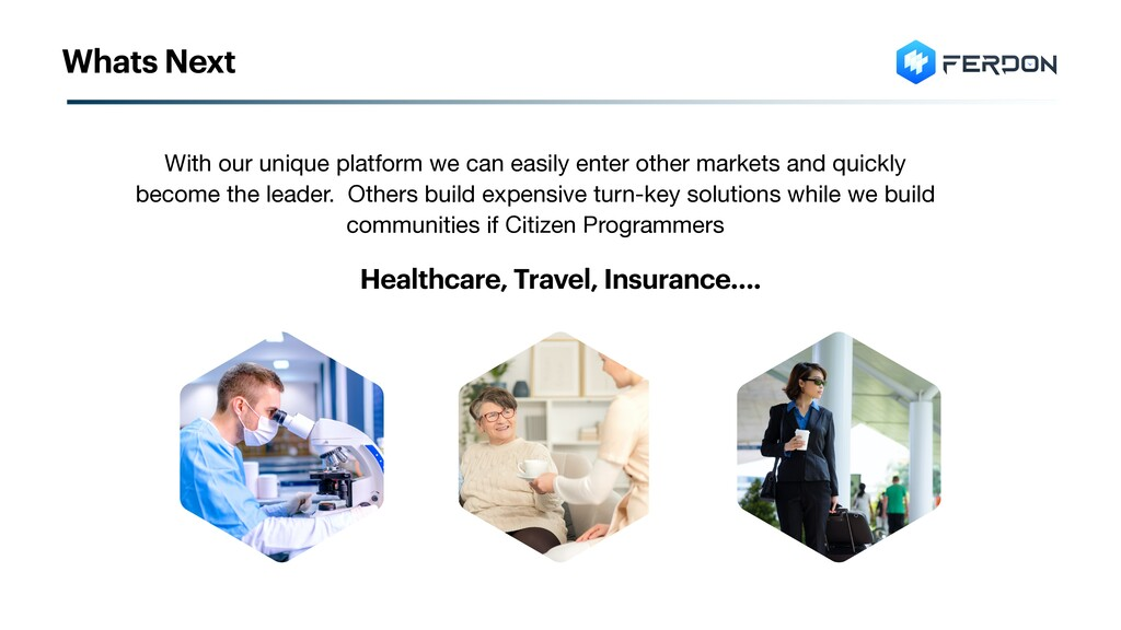Healthcare, Travel, Insurance…. With our unique...