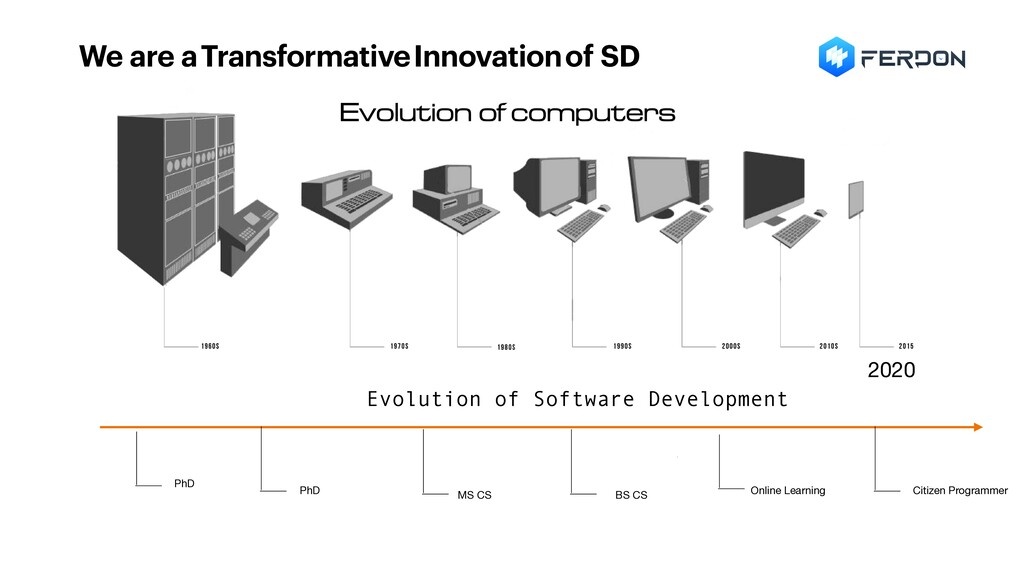 We are a Transformative Innovation of SD PhD Ph...