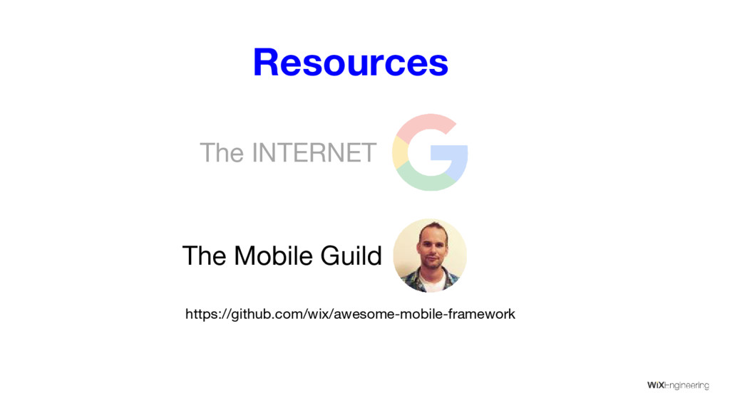 Resources The Mobile Guild The INTERNET https:/...