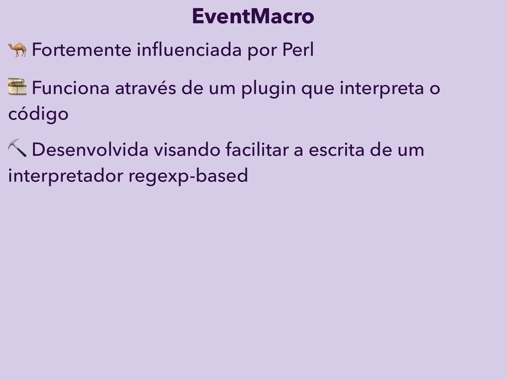 EventMacro ⛏ Desenvolvida visando facilitar a e...