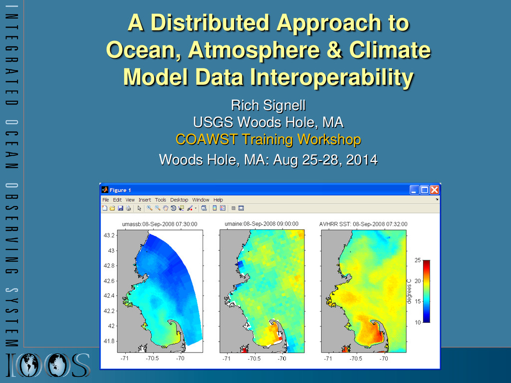 A Distributed Approach to Ocean, Atmosphere & C...