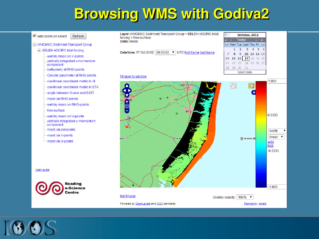 Browsing WMS with Godiva2