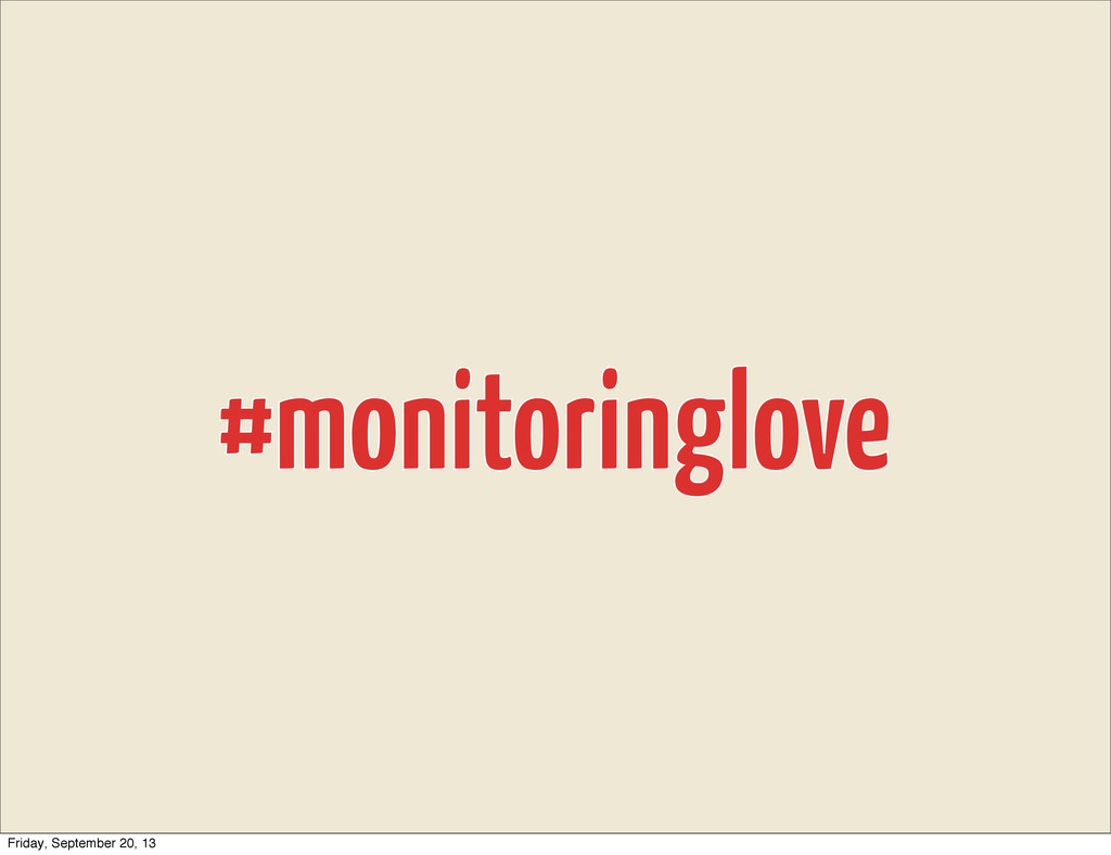 #monitoringlove #monitoringlove Friday, Septemb...