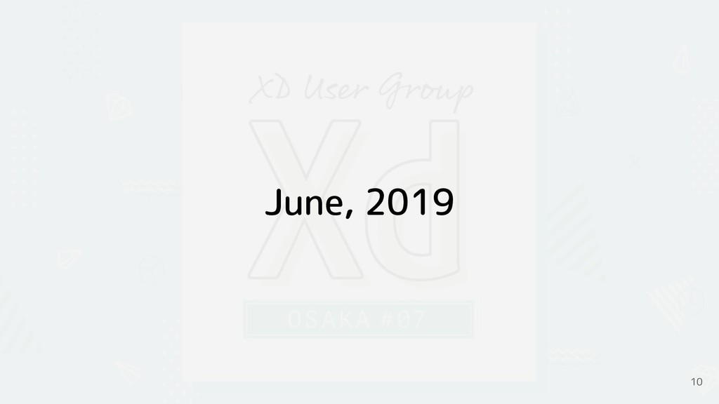 June, 2019 10
