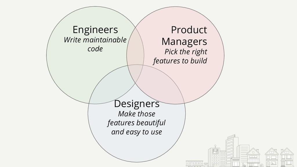 Engineers Write maintainable code Designers Mak...