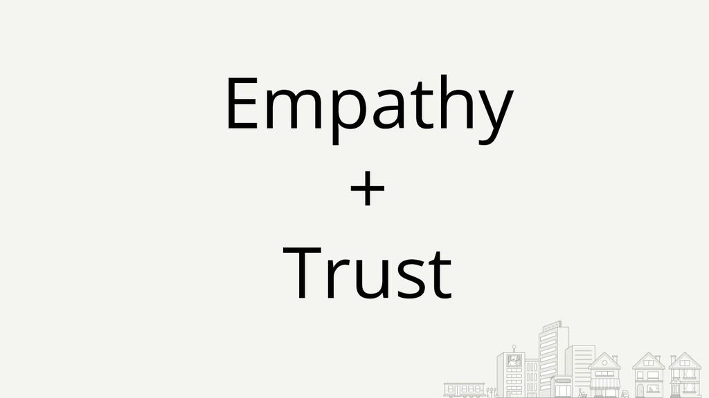 Empathy + Trust
