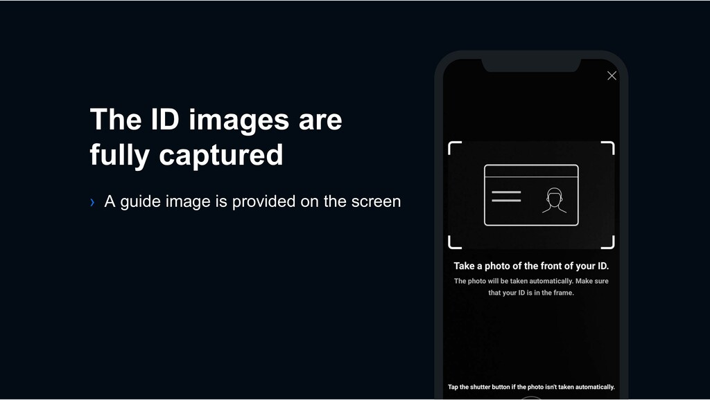 The ID images are fully captured › A guide imag...
