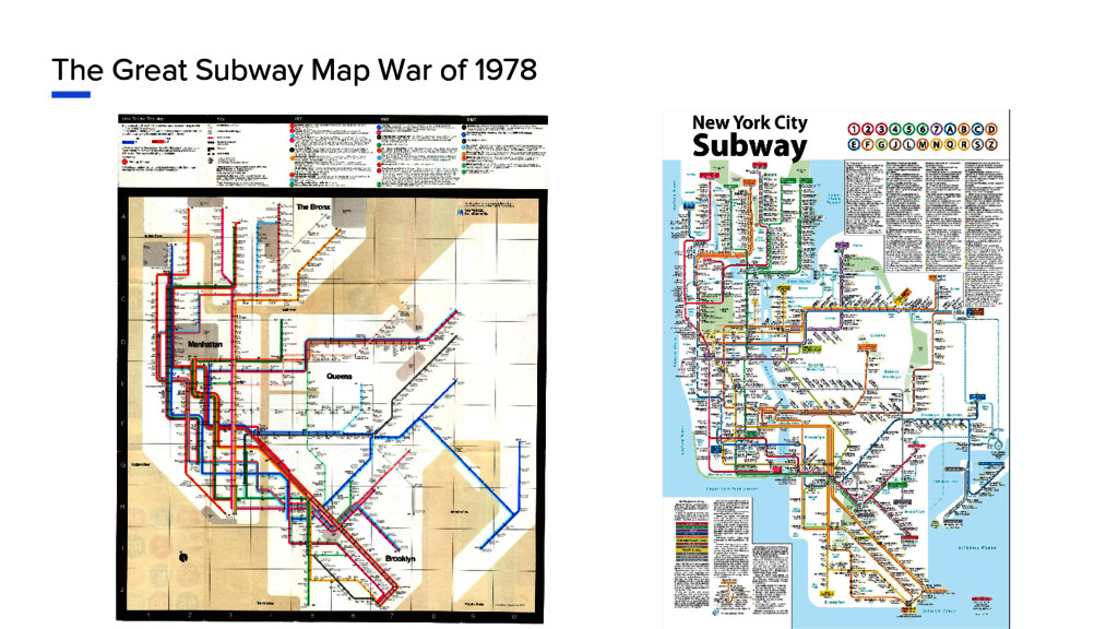 The Great Subway Map War of 1978