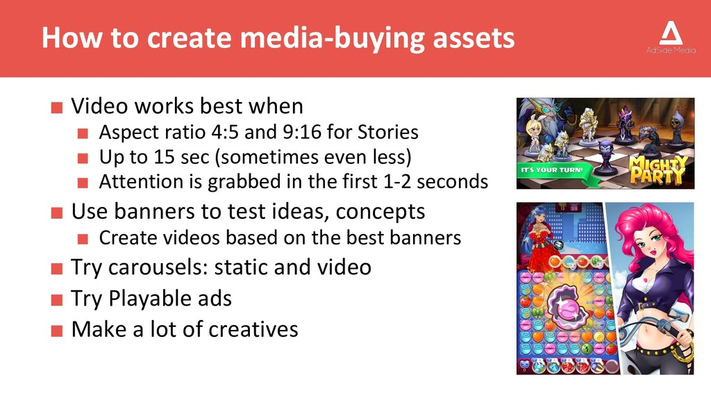 How to create media-buying assets ■ Video works...