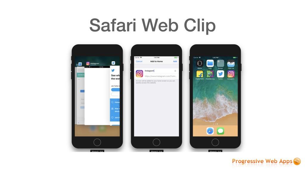 Safari Web Clip