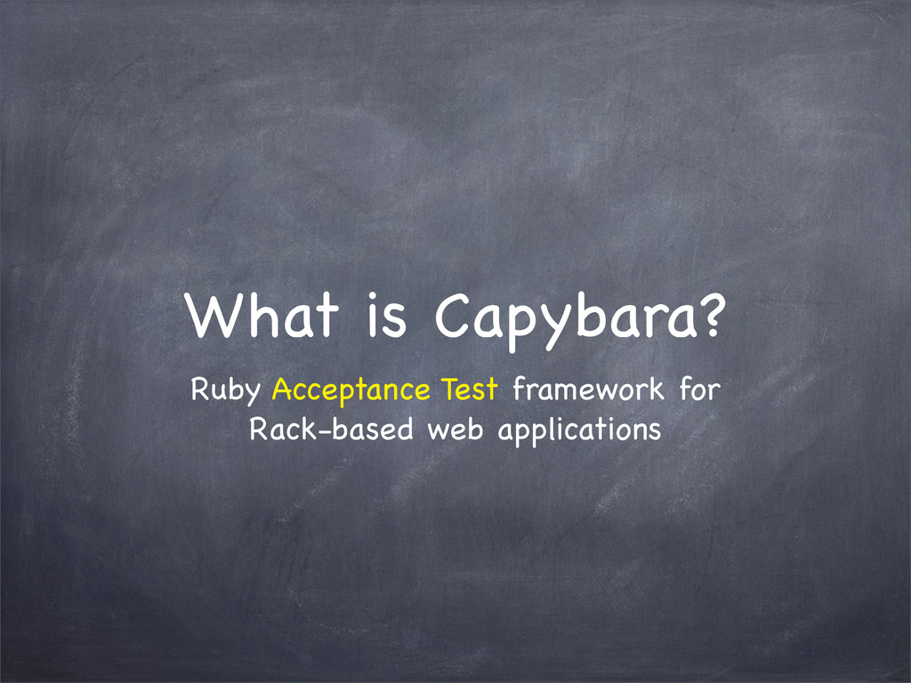 Ruby Acceptance Test framework for Rack-based w...