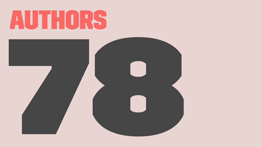 Authors 78