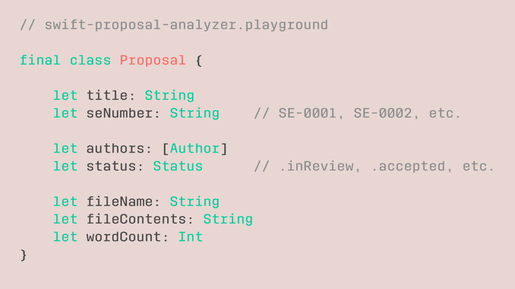 // swift-proposal-analyzer.playground final clas...