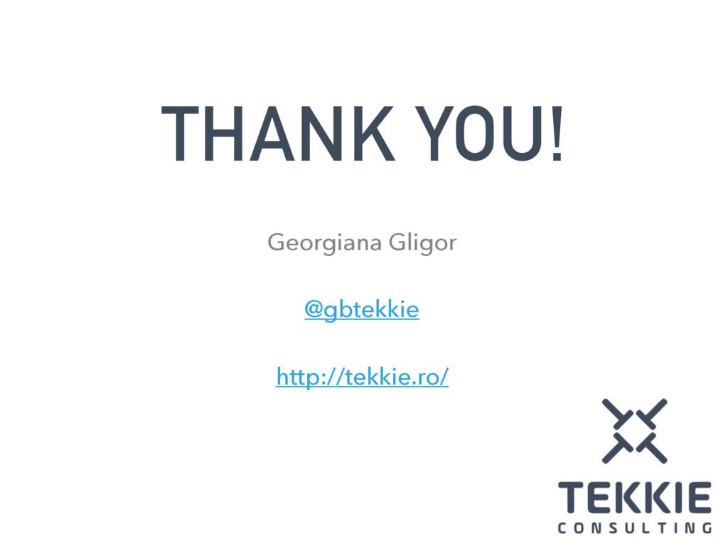 THANK YOU! Georgiana Gligor @gbtekkie http://te...