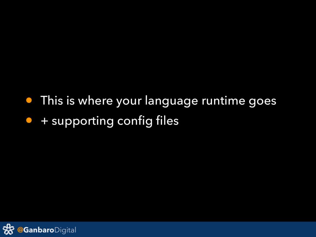 @GanbaroDigital • This is where your language r...