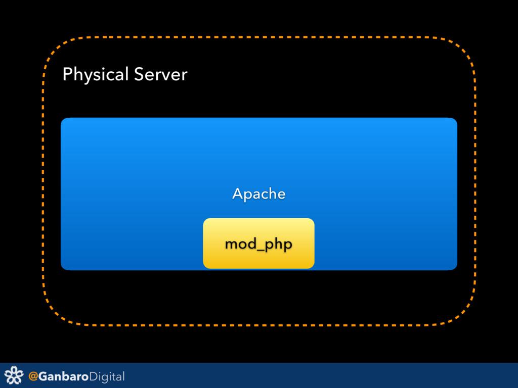 @GanbaroDigital Physical Server Apache mod_php