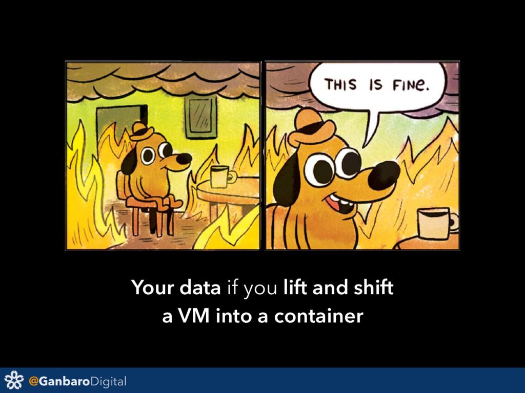 @GanbaroDigital Your data if you lift and shift...