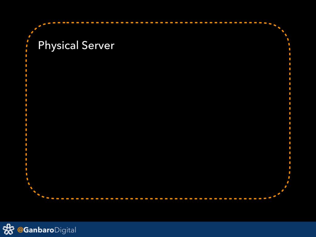 @GanbaroDigital Physical Server