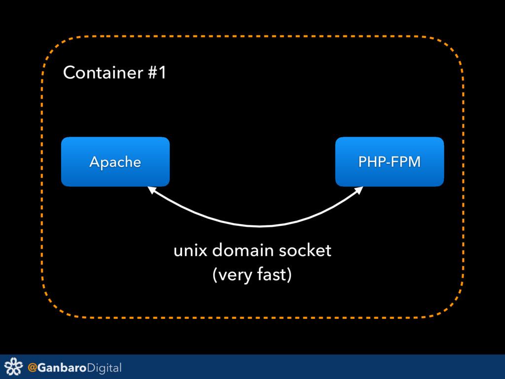 @GanbaroDigital Apache PHP-FPM unix domain sock...