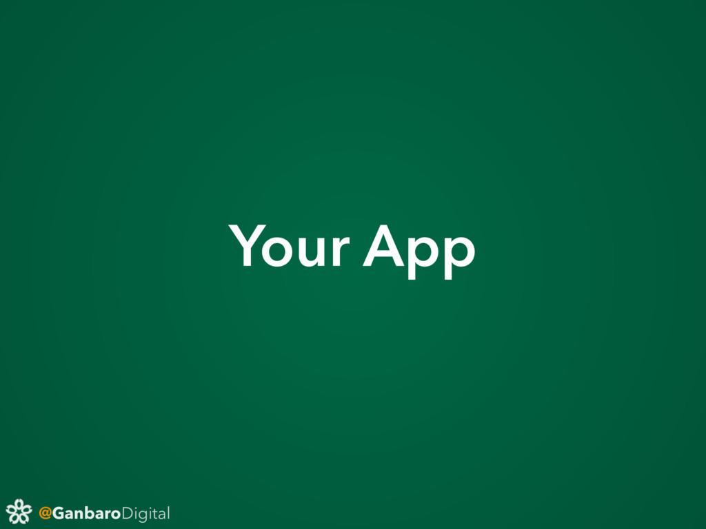 @GanbaroDigital Your App