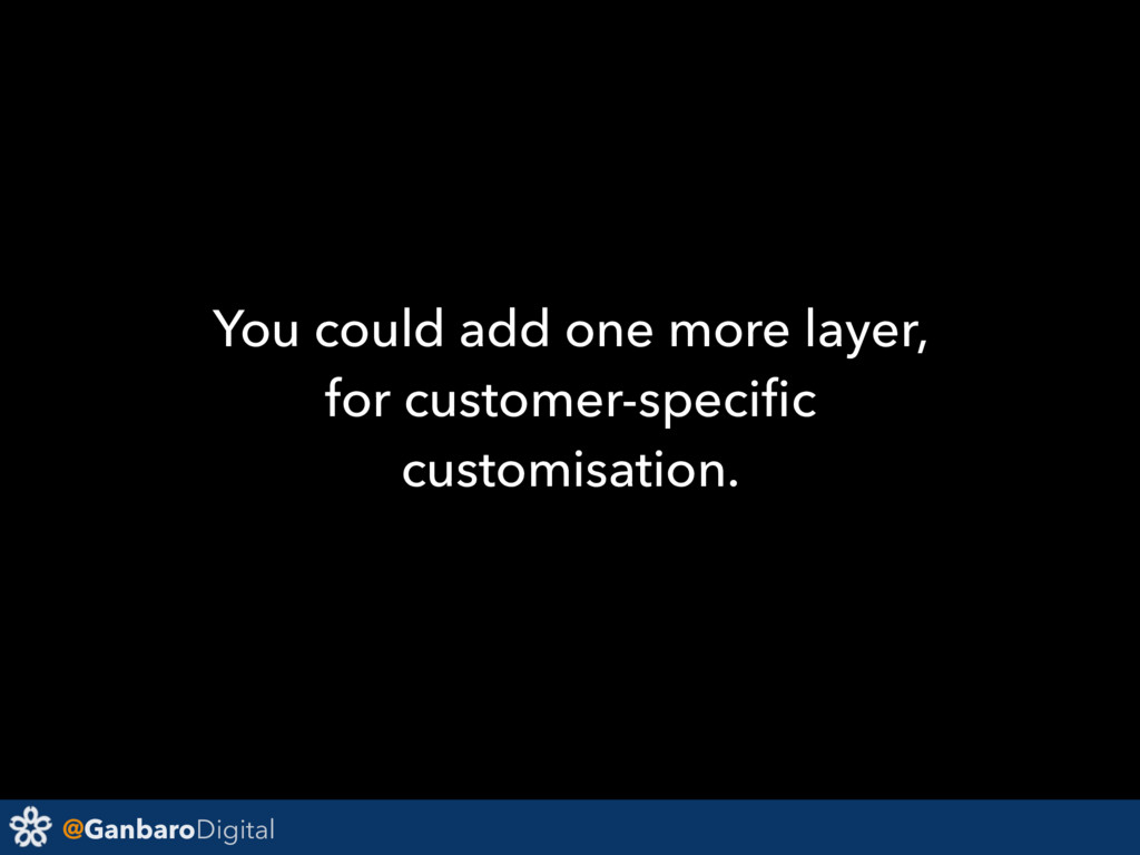 @GanbaroDigital You could add one more layer, f...
