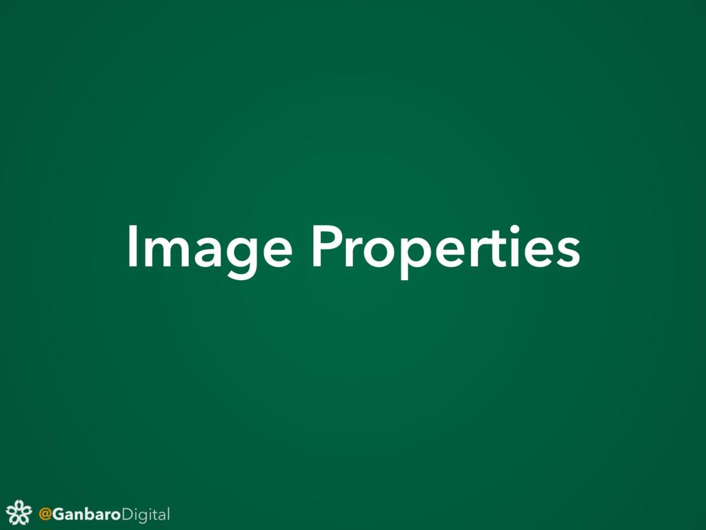 @GanbaroDigital Image Properties