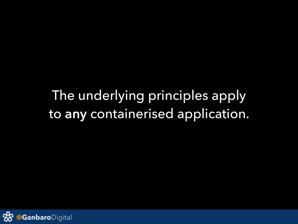 @GanbaroDigital The underlying principles apply...