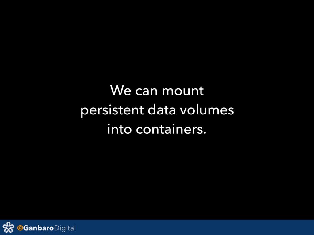 @GanbaroDigital We can mount persistent data vo...