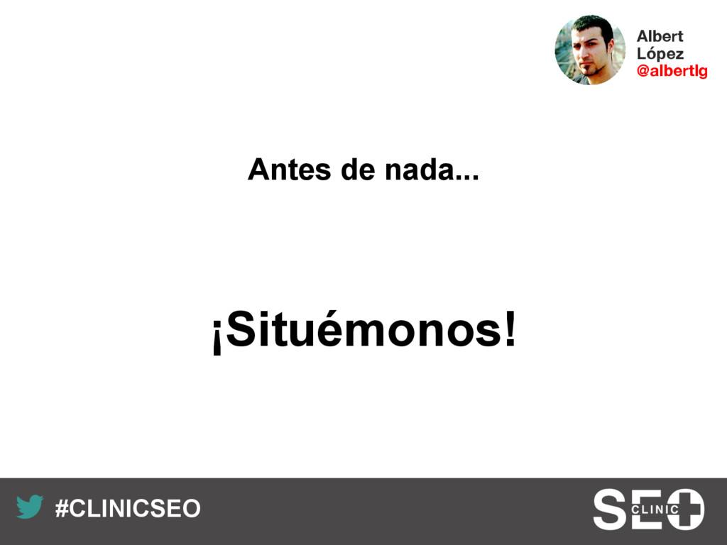 Recuerda nuestro hashtag! #CLINICSEO Albert L...