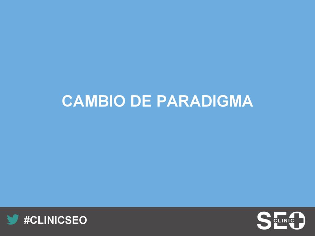 Recuerda nuestro hashtag! #CLINICSEO CAMBIO DE...
