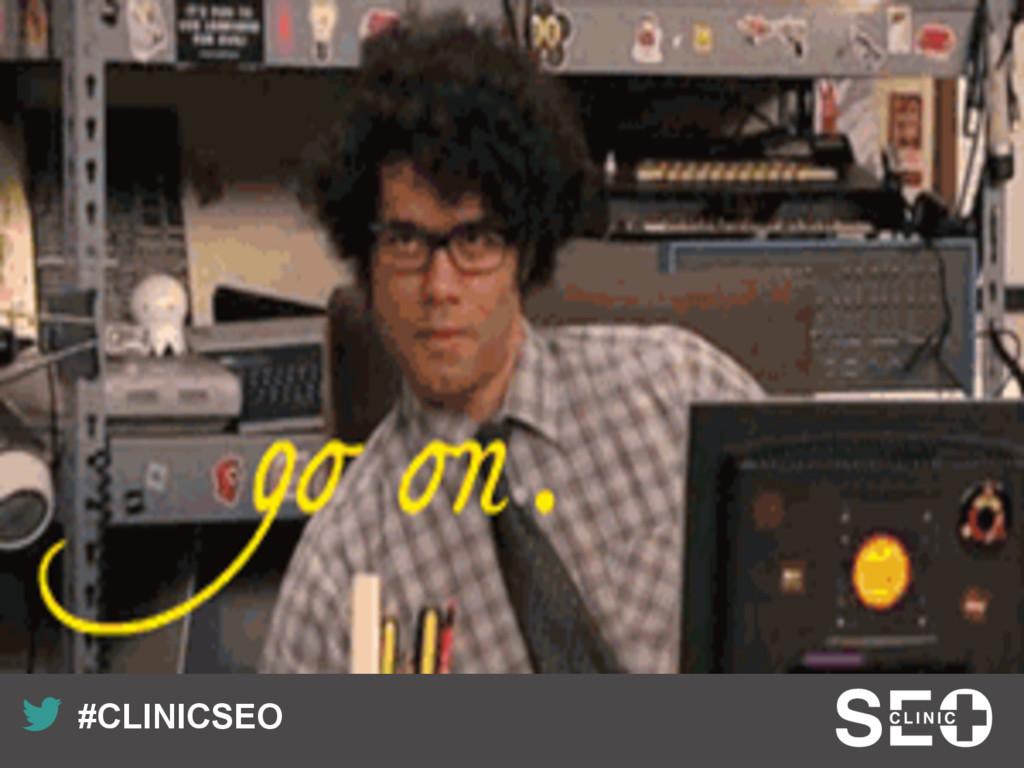 Recuerda nuestro hashtag! #CLINICSEO