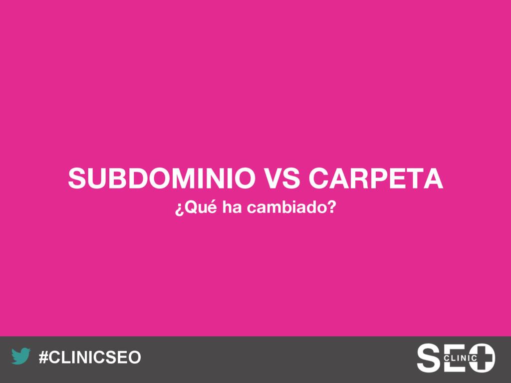 Recuerda nuestro hashtag! #CLINICSEO SUBDOMINI...