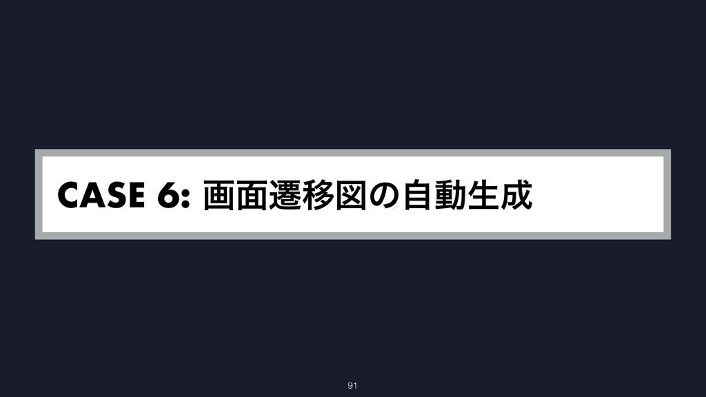 CASE 6: ը໘ભҠਤͷࣗಈੜ 91