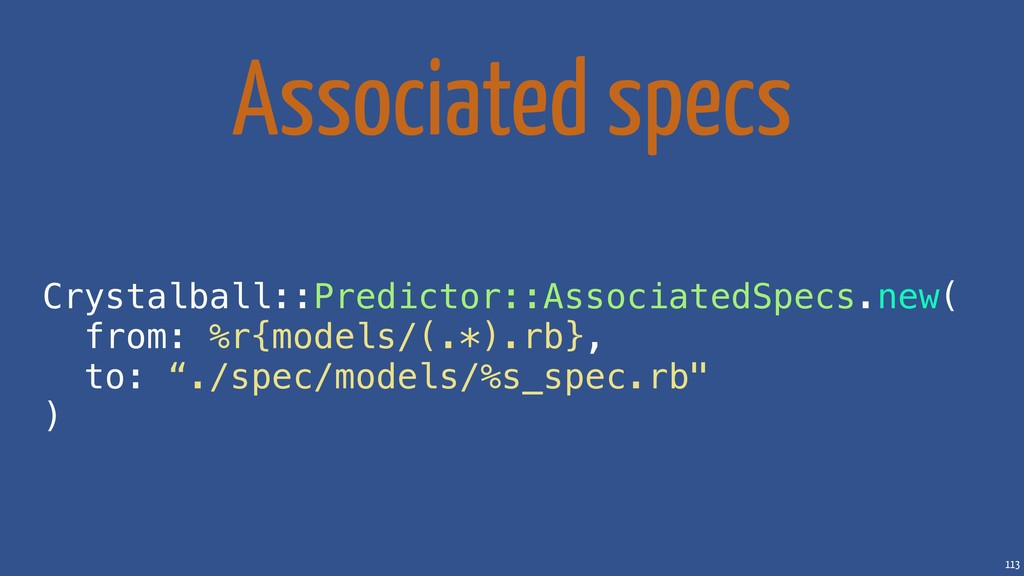 113 Associated specs Crystalball::Predictor::As...