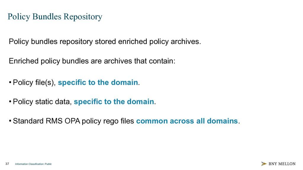 Information Classification: Public 37 Policy Bu...
