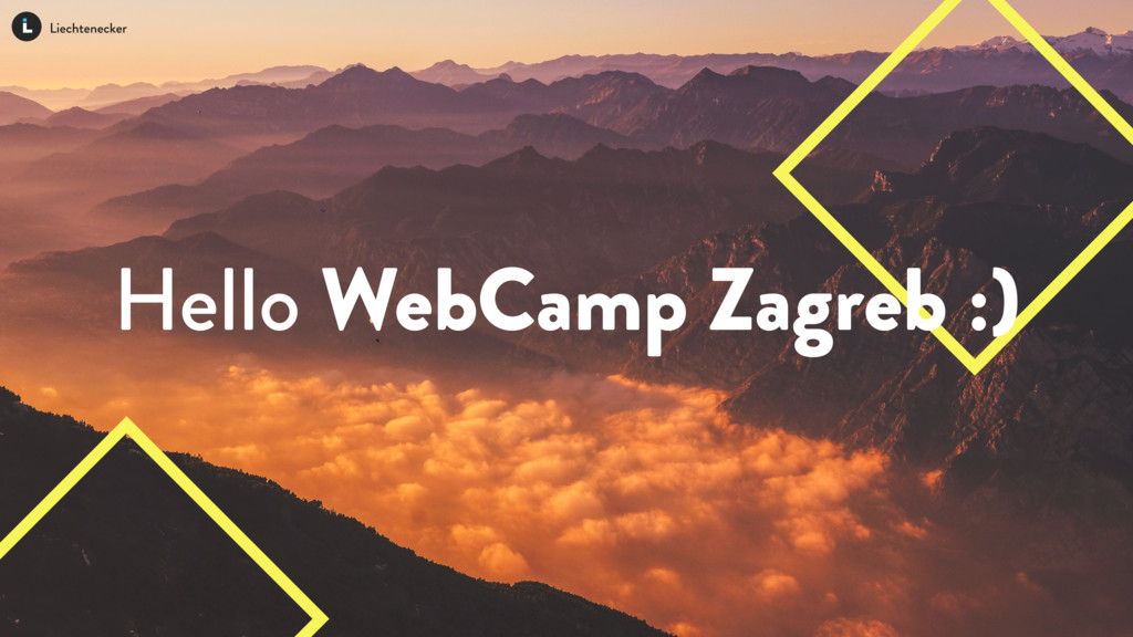 Hello WebCamp Zagreb :)