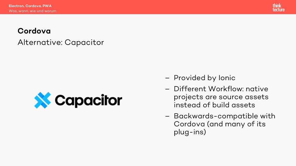 Alternative: Capacitor – Provided by Ionic – Di...