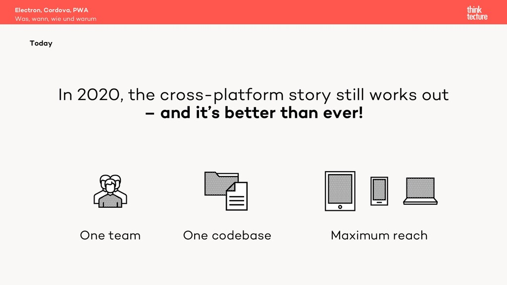 In 2020, the cross-platform story still works o...