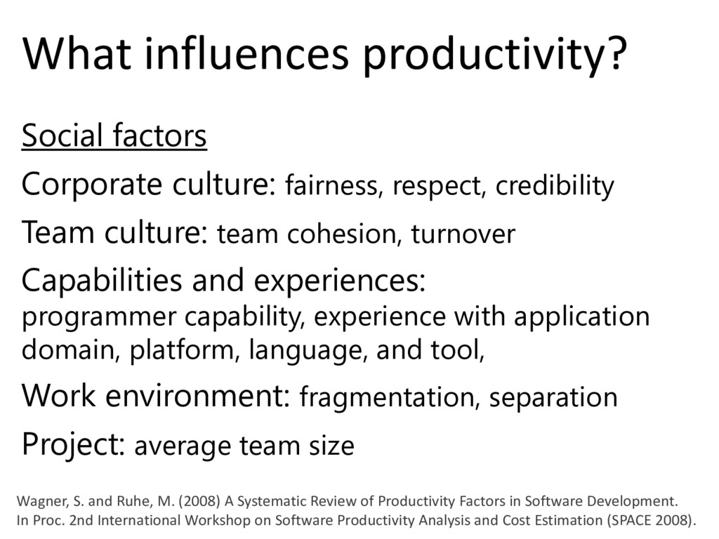 © Microsoft Corporation What influences product...
