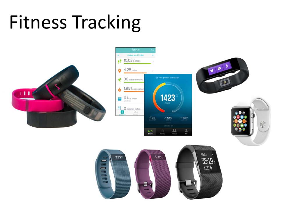 © Microsoft Corporation Fitness Tracking