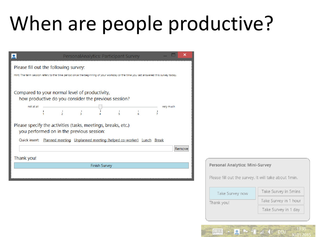 © Microsoft Corporation When are people product...