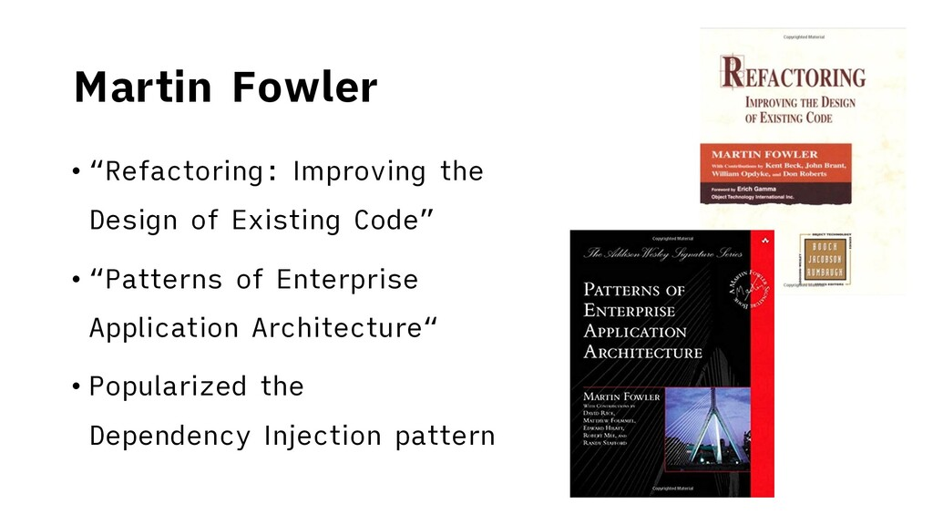 """Martin Fowler • """"Refactoring: Improving the Des..."""