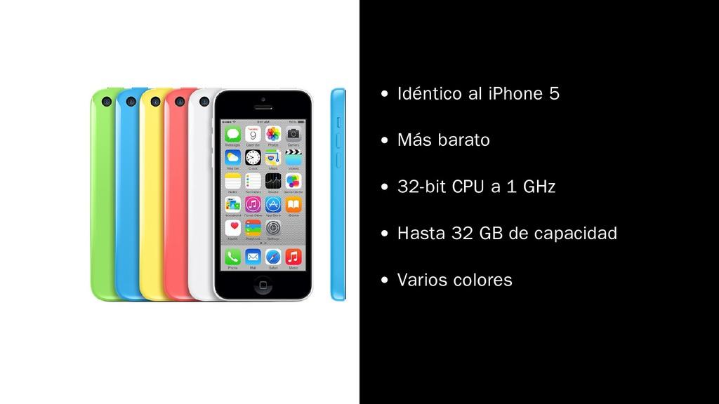 Idéntico al iPhone 5 Más barato 32-bit CPU a 1 ...