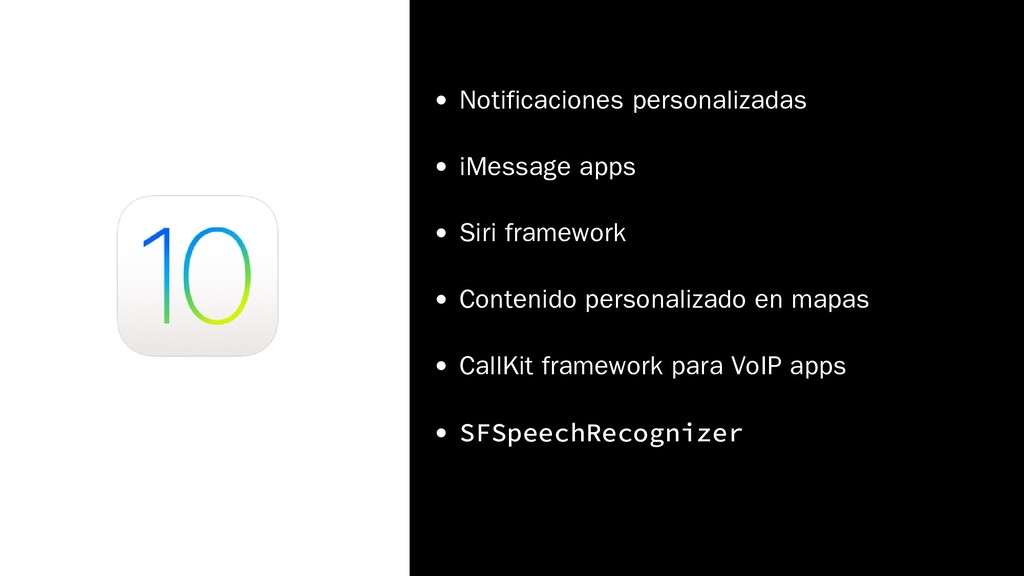 Notificaciones personalizadas iMessage apps Sir...