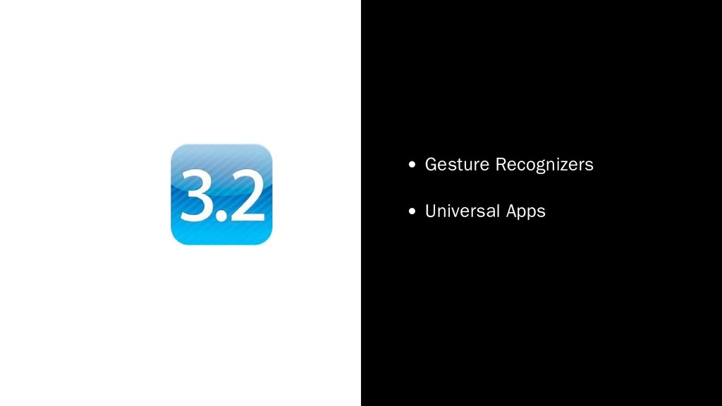 Gesture Recognizers Universal Apps