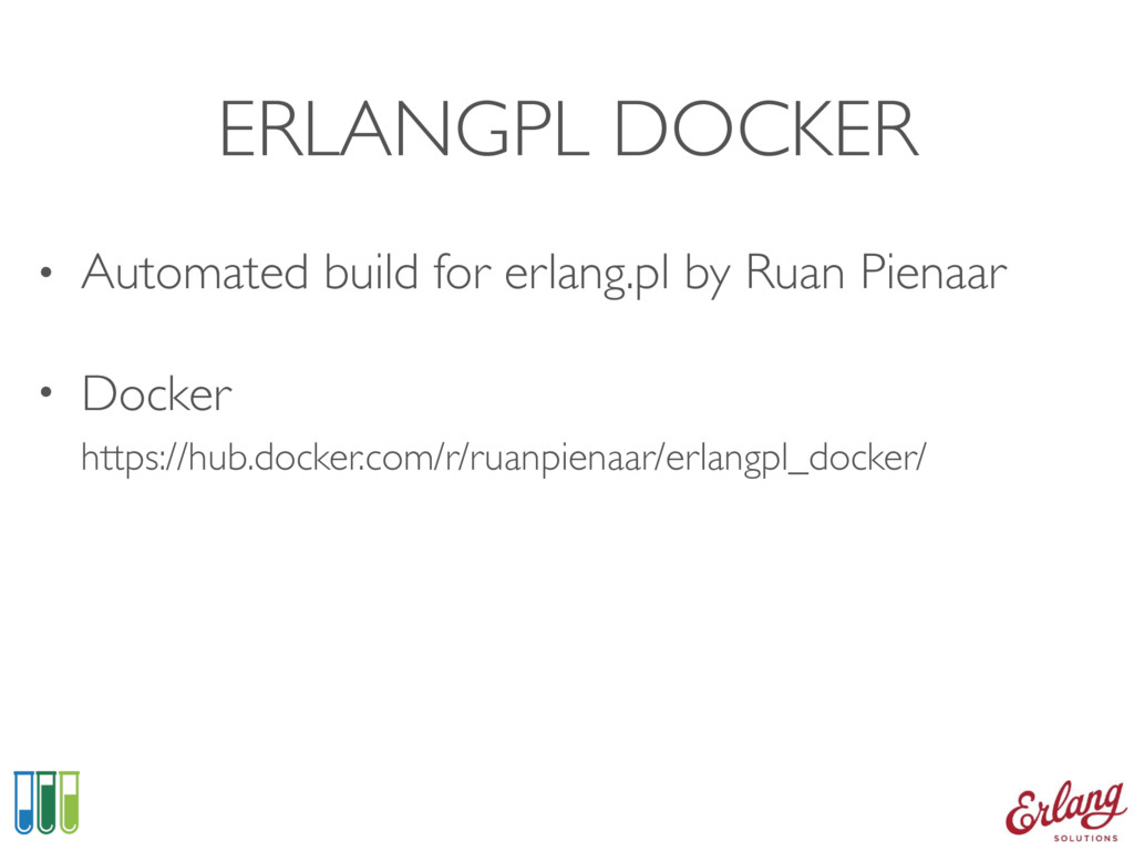 ERLANGPL DOCKER • Automated build for erlang.pl...