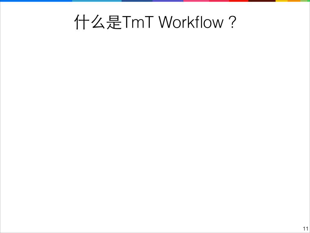 什么是TmT Workflow ? !11