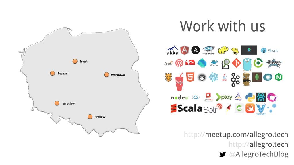 http://meetup.com/allegro.tech http://allegro.t...