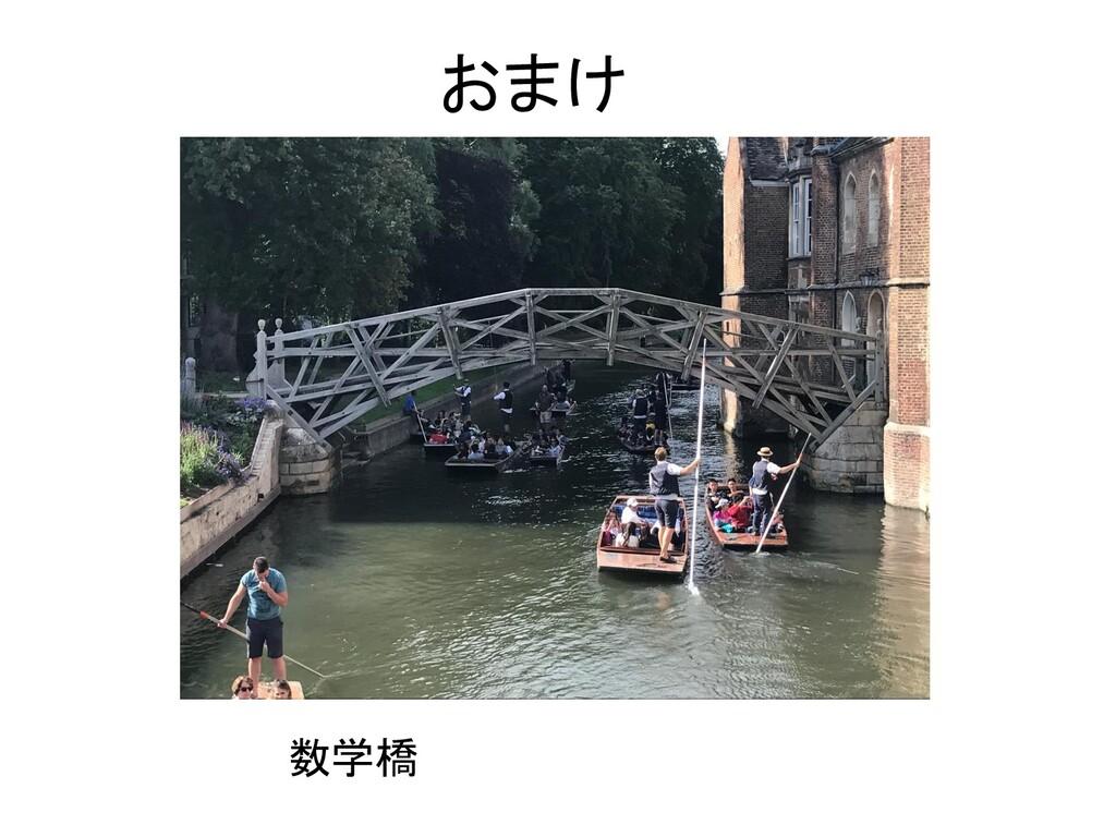 おまけ 数学橋